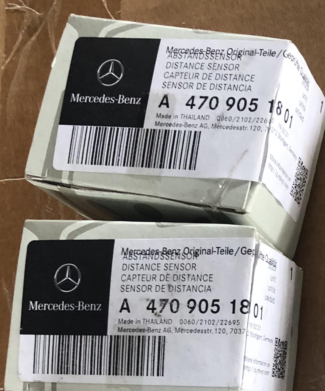 A4709051801 Original Distance Sensor ПАРКТРОНИК  ABSTANDSSENSOR Mercedes Benz
