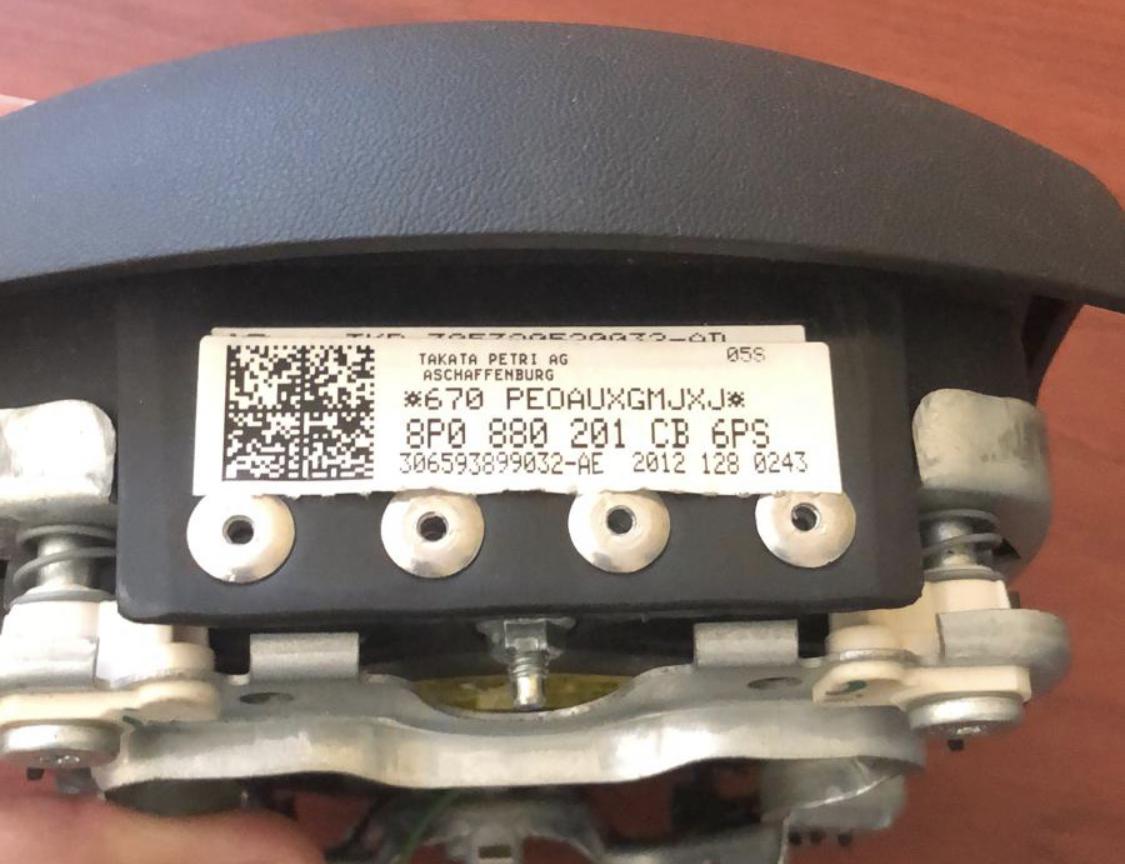 8P0880201CB6PS Genuine Audi Airbag